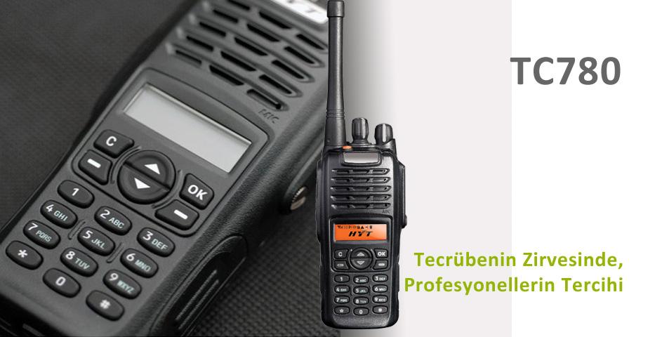 HYT TC780 El Telsizi
